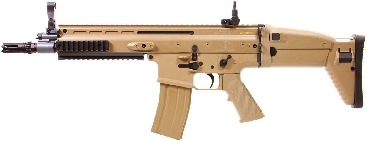 CyberGun Airsoft FN Scar L Tan ABS/Color Deserto/Electric (0.5 Joule) - Semi/Full Automatic