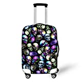 Sannovo Butterfly Skull Protective Cover Suitcase Accessories Men Boy Case