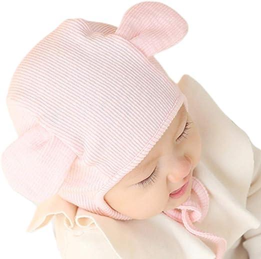S-TROUBLE Gorro para bebé recién Nacido Sombrero de orejera Lindo ...