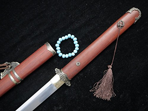 Chinese sword/Tang dao/T10 High Carbon Steel/Redwood Scabbard/copper fittings/handmade/Full - Minecraft Song Li