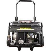 Firman Generators ECO4000RE 6.5 HP Remote Start Gas Powered Portable Generator and Wheel Kit