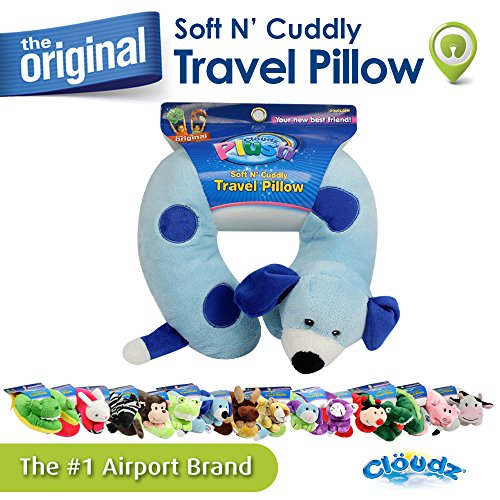 Cloudz Plush Animal Neck Pillows - Dog