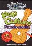 Pop Culture Puzzle-Pedia, Bathroom Readers' Institute, 1592238858