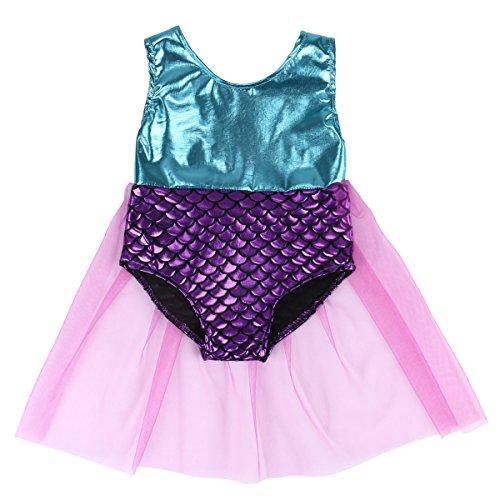 Baby Toddler Kids Girls Mermaid Tankini Bikini Swimwear Swimsuit Bathing Suit (9-12 Months, Mermaid)