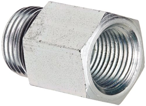 (Eaton Weatherhead C3269X8X6 Carbon Steel Fitting, Adapter, 3/8