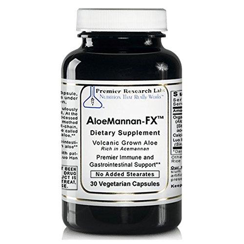 Premier AloeMannan-FX (Acemannan / Aloe) 2 Bottles - 60 Vcaps Research Labs