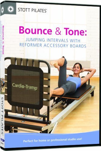 STOTT PILATES Bounce and Tone: Jumping Intervals with Reformer Accessory Boards by STOTT PILATES