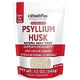 Health Plus Pure Psyllium Husk Bags, 12-Ounces, 48 Servings For Sale
