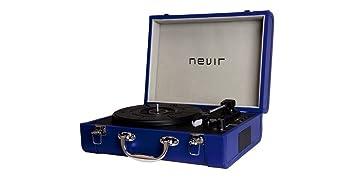 Nevir Tocadiscos Portatil Nvr804vbue: BLOCK: Amazon.es ...