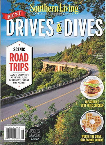 Southern Living Best Drives & Dives Magazine 2019 Back by Popular Demand
