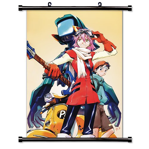 FLCL Anime Fabric Wall Scroll Poster  Inches.-FLCL-22