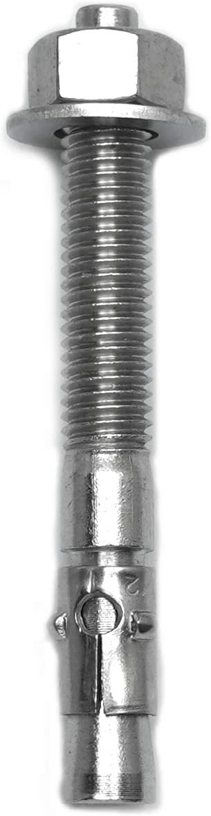 CONFAST 1//2 x 3-3//4 Stainless Steel Wedge Anchor 25 per Box