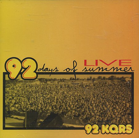 Peter Frampton - Kqrs, 92 Days Of Summer Live - Zortam Music