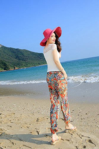 DASKING - Pantalón - para mujer naranja