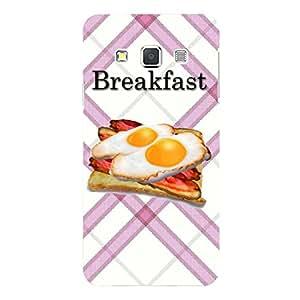 "Disagu Design Protective Case para Samsung Galaxy A3 (2015) Funda Cover ""Breakfast"""