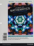 img - for Survey of Mathematics with Applications with Integrated Review, A, Books a la carte edition, plus MyLab Math Student Access Card and Sticker (10th Edition) book / textbook / text book