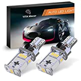 Automotive : YITAMOTOR 921 912 Backup Light Extremely Bright 2000 Lumens Error Free 3020 Chipsets T15 LED Bulbs for Back Up Reverse Lights 6000K Xenon White DC10V-16V (Pack of 2)