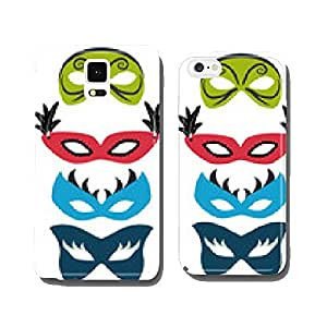 Colorful carnival masks with feathers cell phone cover case iPhone6 Plus