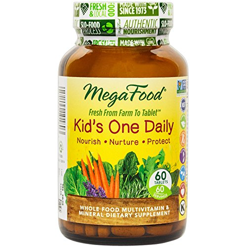 MegaFood - Kid's One Daily, Supports Healthy Growth & Development, 60 Tablets (FFP)