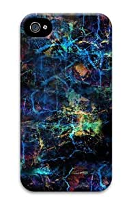 abstract PC Case for iphone 4S/4