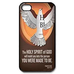 -ChenDong PHONE CASE- For Iphone 4 4S case cover -Holy & Peace Dove-UNIQUE-DESIGH 9