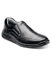 Florsheim Men's Pacer Moc Slip Black Milled loafers 11 M