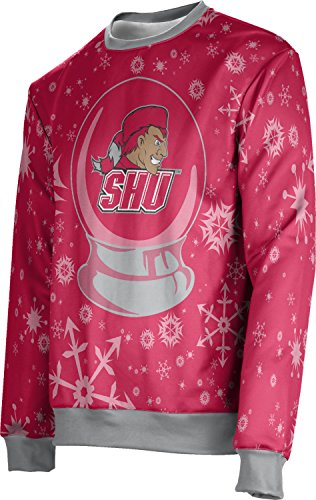 ProSphere Sacred Heart University Ugly Holiday Unisex Sweater - Snow Globe FE621