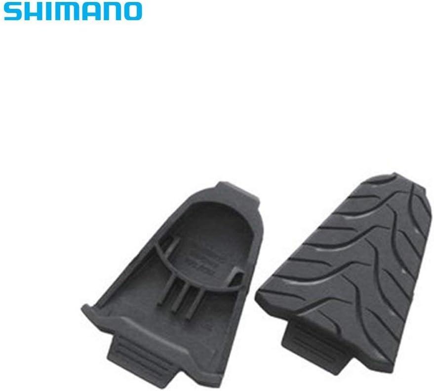 Shimano SM-SH45 - Protectores de calas, color negro: Amazon.es: Deportes y aire libre