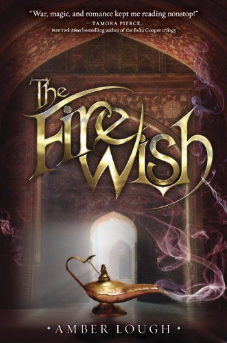 The Fire Wish (Jinni Wars) by Amber Lough (2014-07-22)