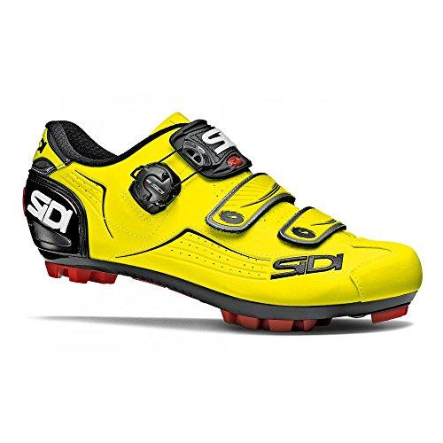 SIDI - Zapatillas de ciclismo de Piel para hombre amarillo amarillo