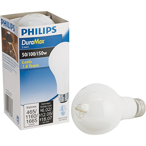 GE SoftWhite Light Bulb 3 Way