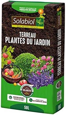 Solabiol UAB - Tierra para Plantas de jardín (50 L): Amazon.es: Jardín