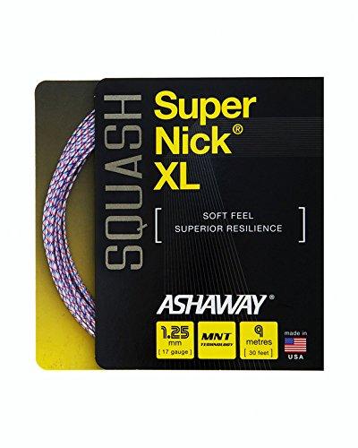 Ashaway SUPERNICK XL Squash String Set