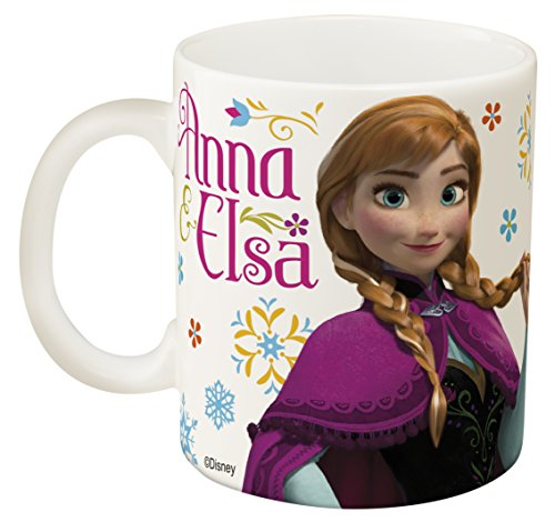 Zak Designs FZNI-1590-B Disney Frozen Coffee Mugs 11.5 oz. Elsa & ()