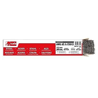 Telwin - Paquete Rutilos Acero AWS A5.1: E6013, 227 2,5 kg