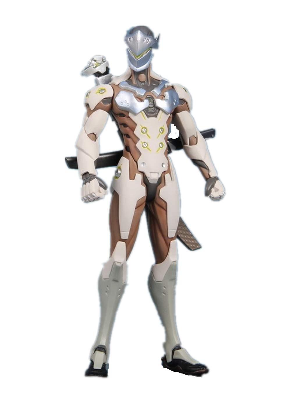 Amazon.com : 25cm PVC Anime Action Figure Genji with Sword ...