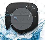 Bluetooth Shower Speaker – SoundPal Water Resistant Wireless and Hands-free Speaker with Suction Cup - Compatible with All Bluetooth Devices - Black