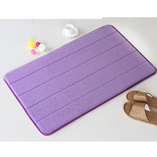 Bathroom mats/foot pad/toilet/bathroom door mats/non-slip suction bath mat-C 140x200cm(55x79inch) by DUSPLOT