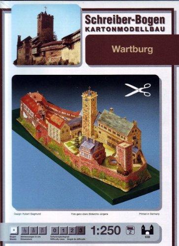 Schreiber-Bogen Wartburg Castle Card Model