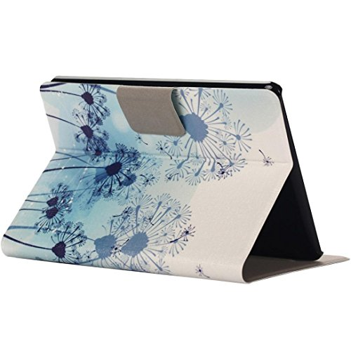 Mchoice Intelligent Sleep Folding Stand Painted Leather Case Cover for Amazon Kindle Paperwhite 1/2/3 6Inch (D)