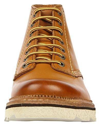 Clarks Frelan Rise Herren Kurzschaft Stiefel Braun (Cognac Leather)