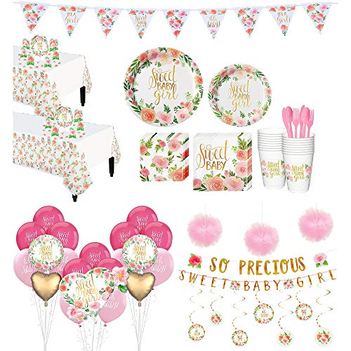 Party City Ultimate Boho Girl Baby Shower Kit
