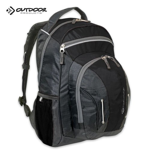 Outdoor Products Morph Daypack (Black), Outdoor Stuffs