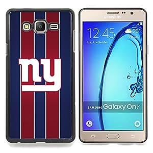 "Qstar Arte & diseño plástico duro Fundas Cover Cubre Hard Case Cover para Samsung Galaxy On7 O7 (Nueva York"")"
