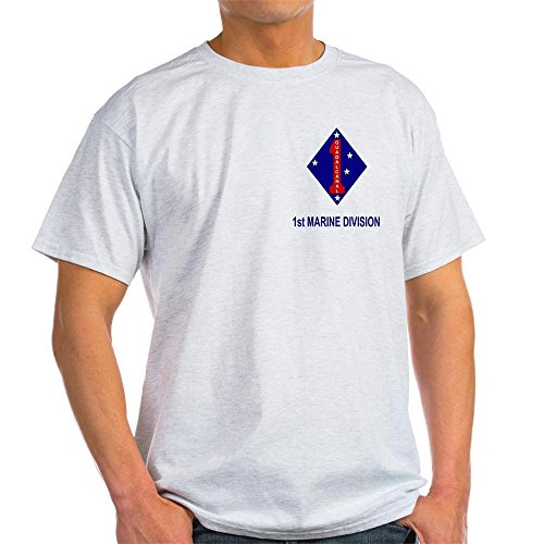 CafePress 1st Marine Division<BR>Tee Shirt 10-100% Cotton T-Shirt
