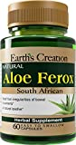 Earth's Creation South African Cape Aloe Vera Ferox, 60 Capsules For Sale