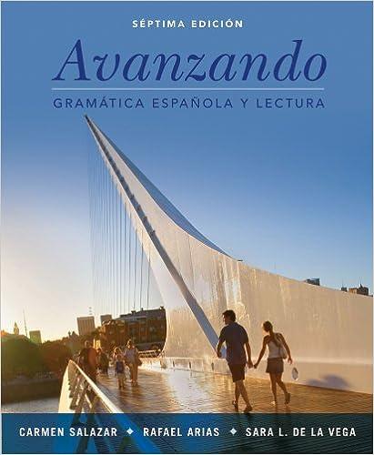 Amazon avanzando gramtica espaola y lectura 7th edition avanzando gramtica espaola y lectura 7th edition spanish edition spanish 7th edition fandeluxe Choice Image