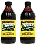 Plantation Blackstrap Molasses Bottle 15 oz (Pack of 2)