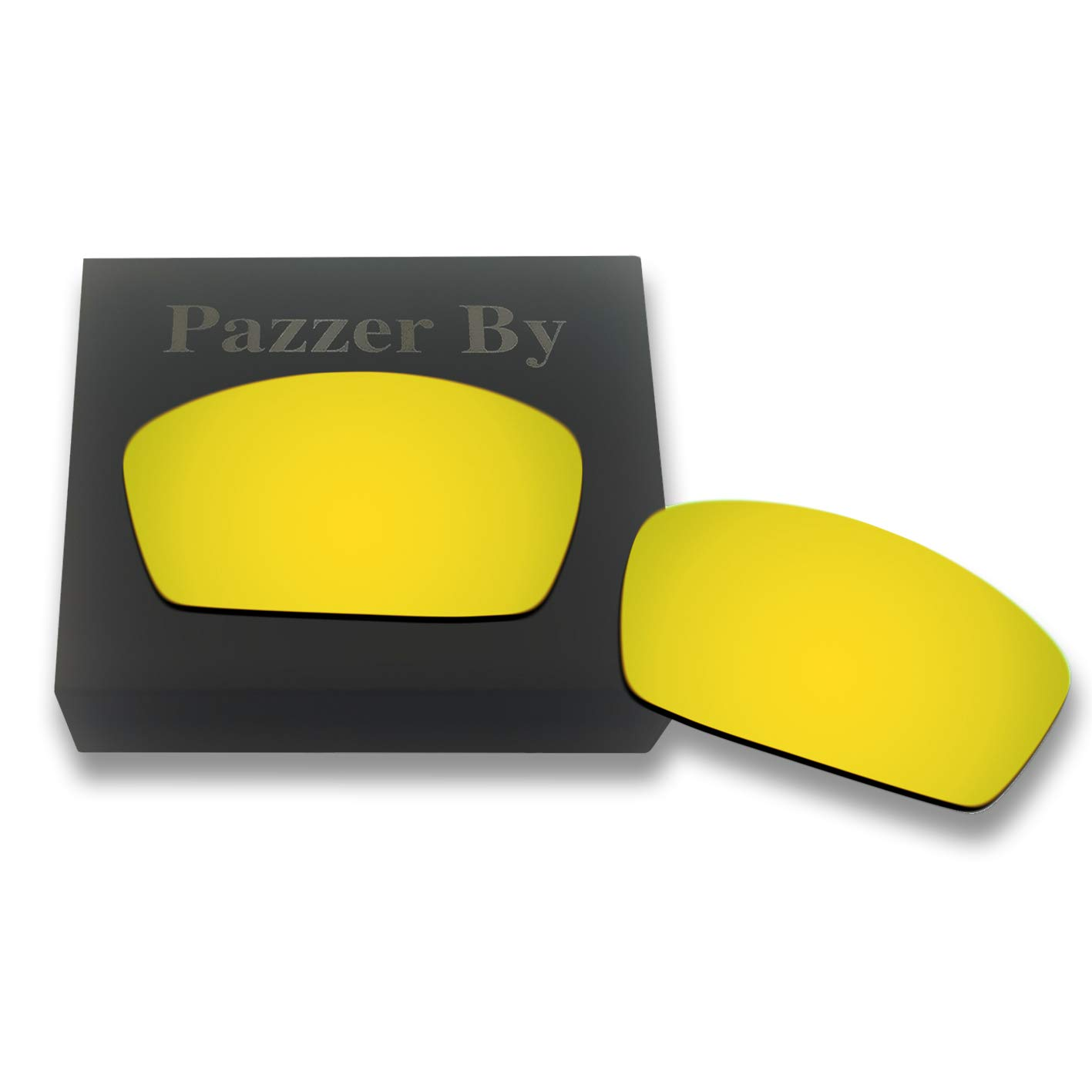 26223d3c170 Amazon.com  Polarized Replacement Lenses for Oakley Square Whisker - 24K  Gold Mirrored Coating  Clothing