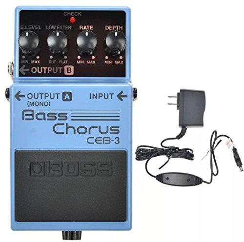 Chorus, Flange & Tremolo Bass Guitar Effects